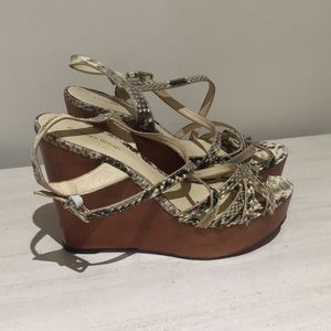 Alexandre Birman Strappy Wedges